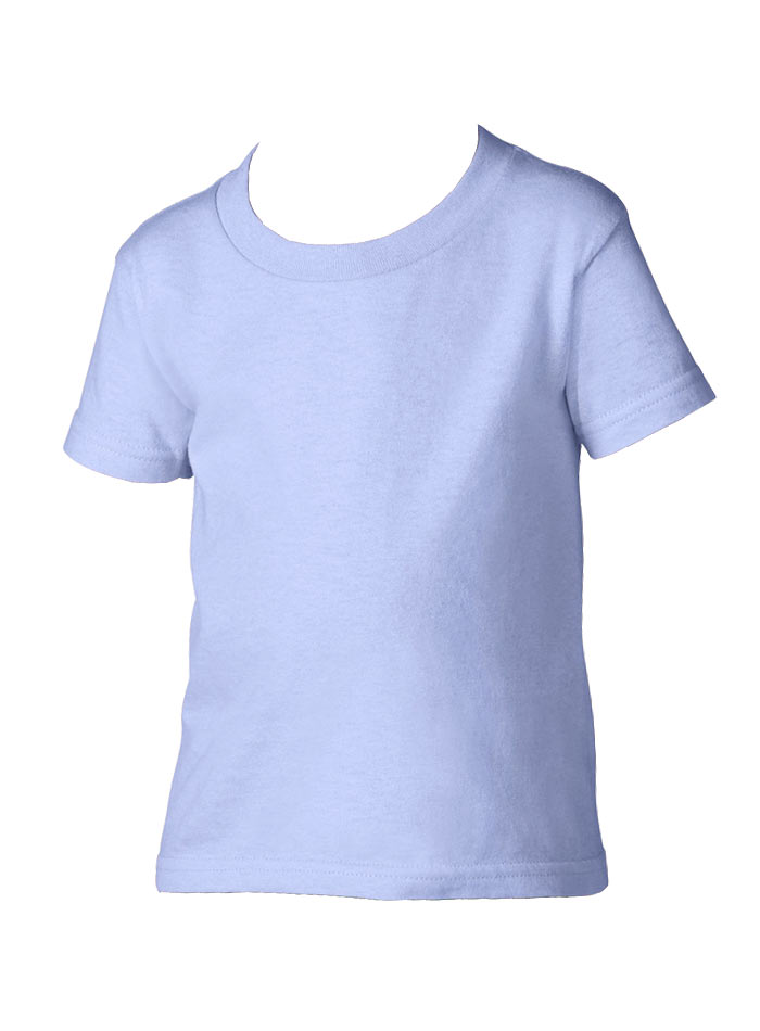 Dětské tričko Gildan - světle modrá 2T (92)