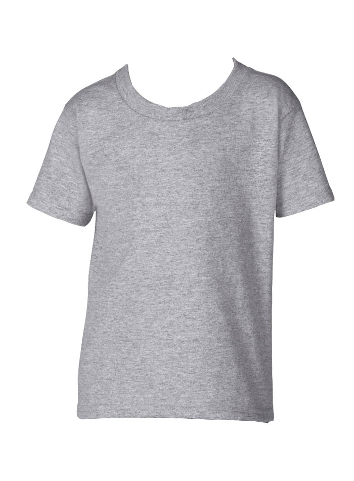 Dětské tričko Gildan - Šedá 3T (98)