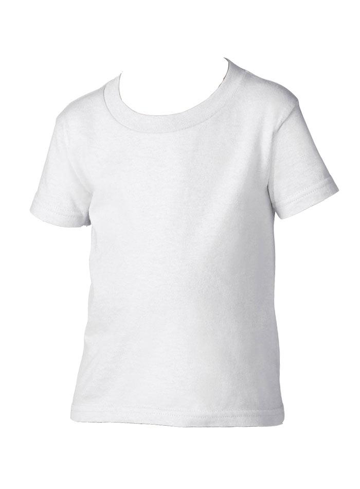 Dětské tričko Gildan - Bílá 2T (92)