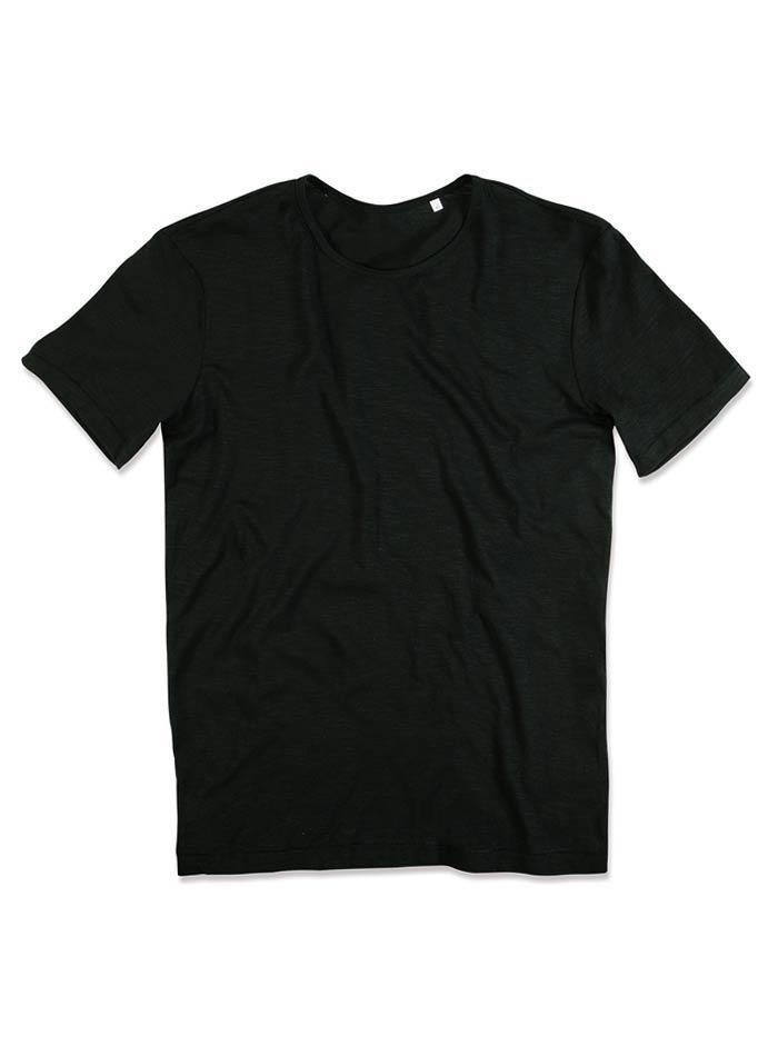 Pánské tričko Shawn - Opálově černá M