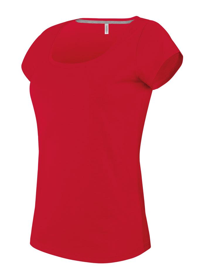 Dámské tričko Kariban - Červená S