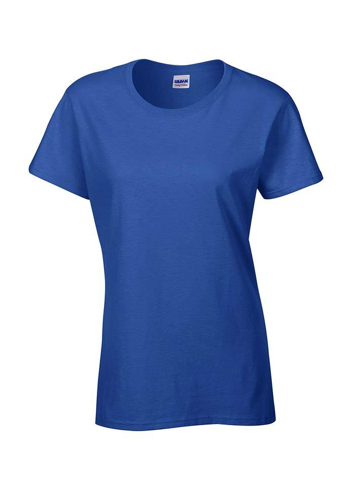 Bavlněné tričko Gildan Heavy - Královská modrá XXL