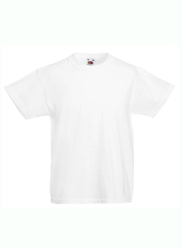 Lehké bavlněné tričko - Bílá 104 (3-4)