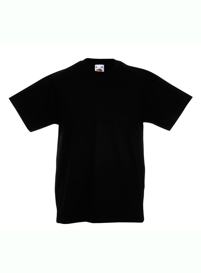 Lehké bavlněné tričko - Černá 152 (12-13)