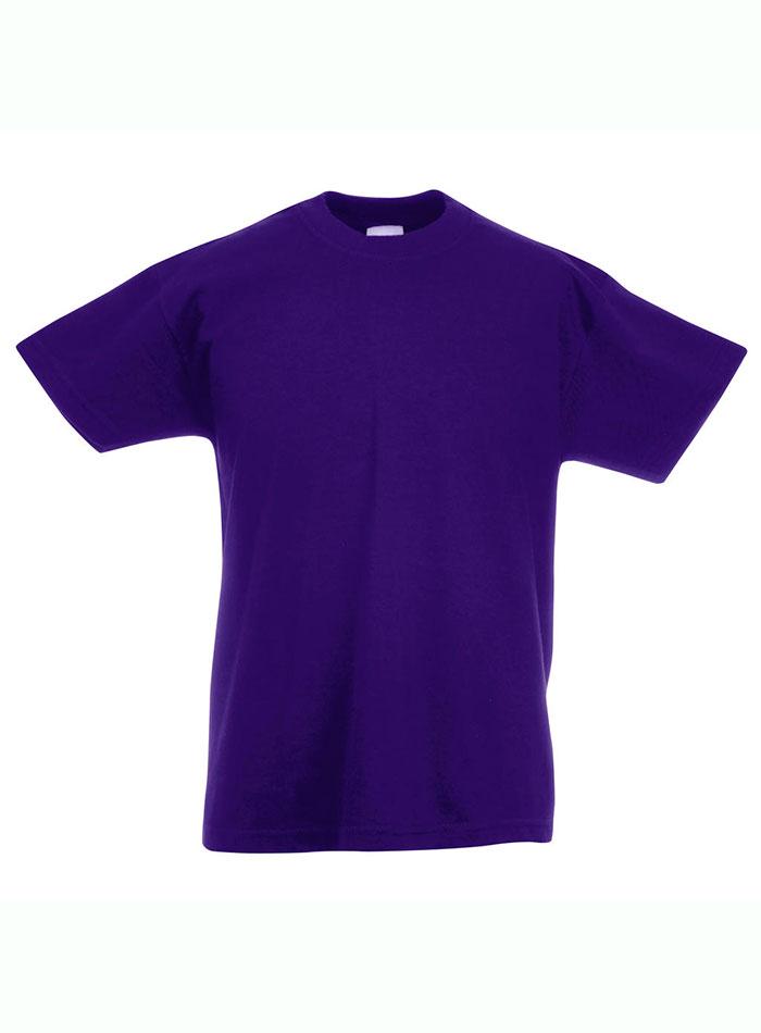 Lehké bavlněné tričko - fialová 152 (12-13)