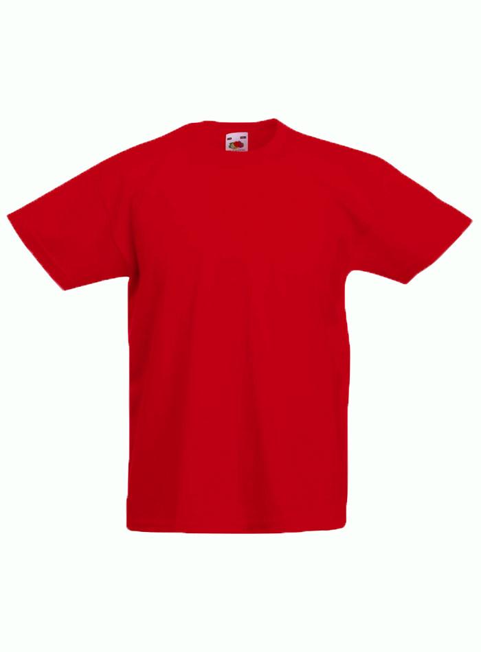 Lehké bavlněné tričko - Červená 152 (12-13)