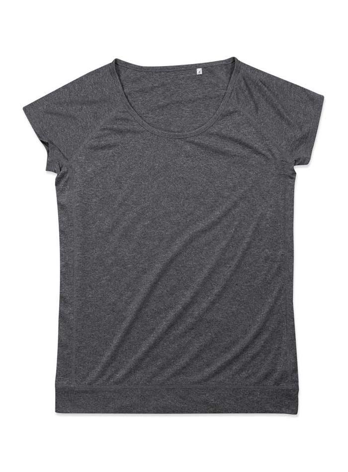 Dámské sportovní tričko Performance - antracitová S