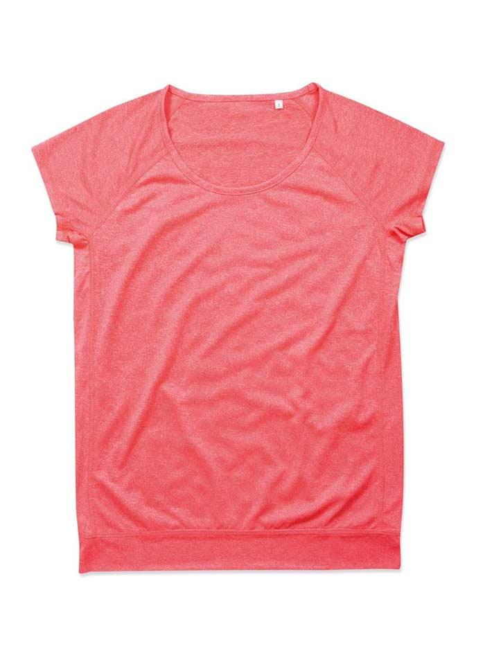 Dámské sportovní tričko Performance - Korálová S