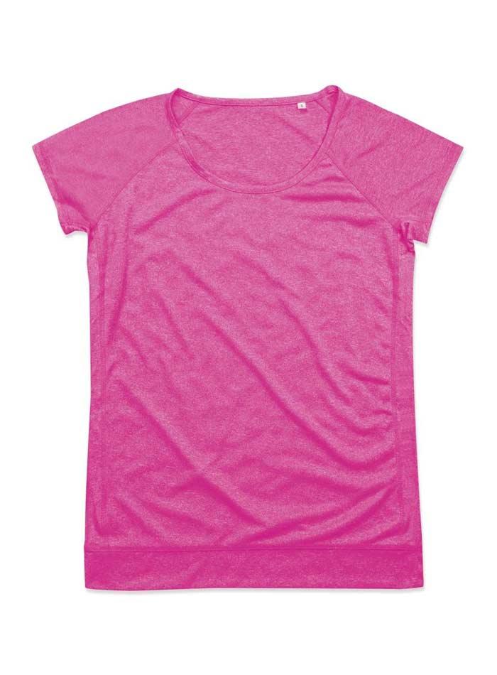 Dámské sportovní tričko Performance - Růžová S