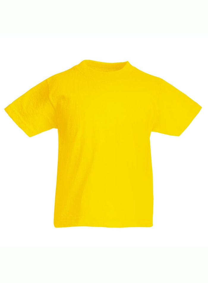Lehké bavlněné tričko - Žlutá 152 (12-13)