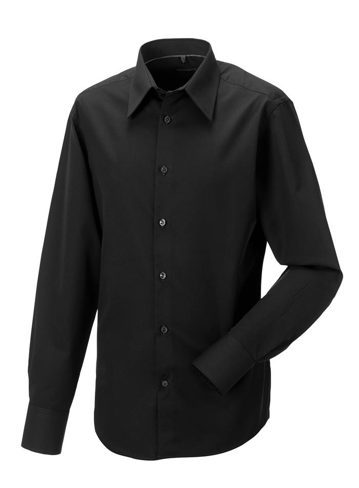 Pánská košile Russell - černá S