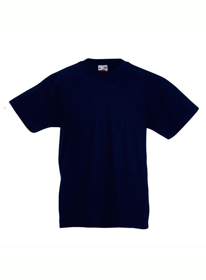 Lehké bavlněné tričko - Temně modrá 152 (12-13)