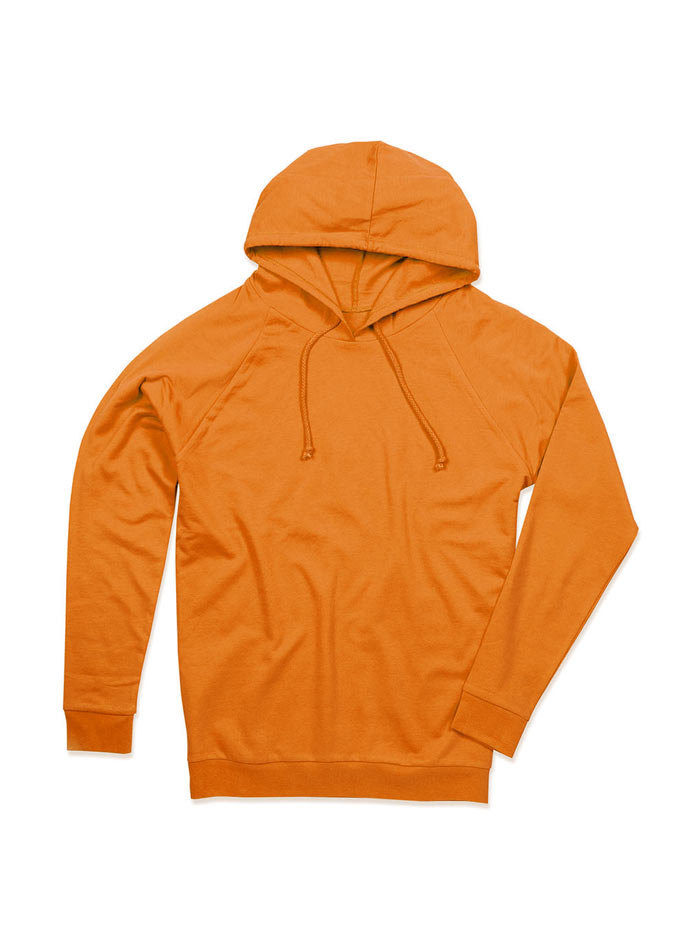 Unisex mikina Hoody - Oranžová XXL