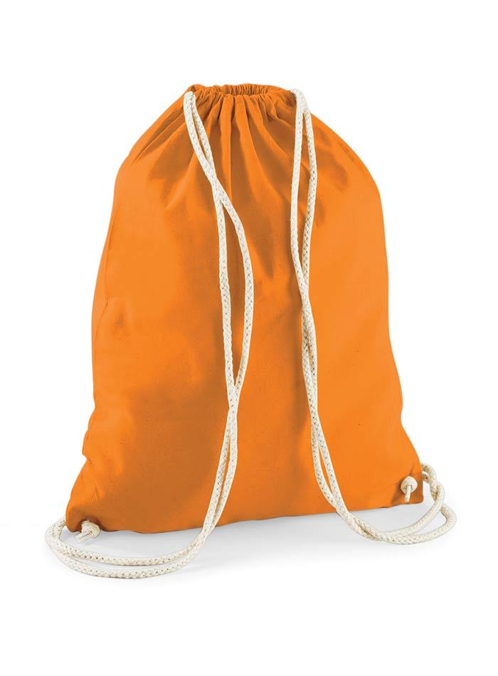 Bavlněný vak na záda - Oranžová univerzal