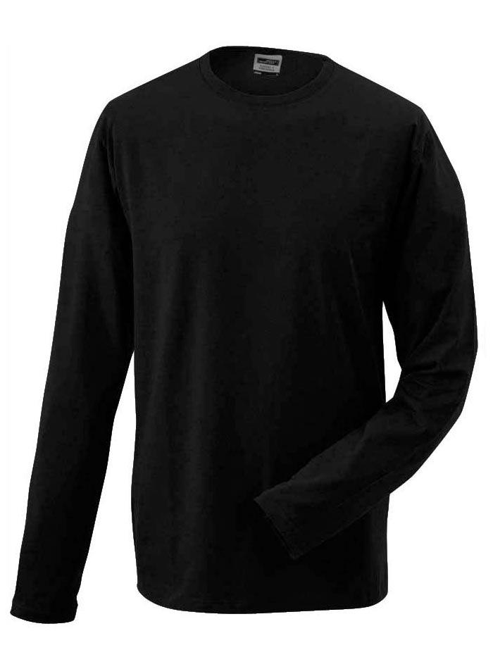 Pánské tričko Elastic - černá M
