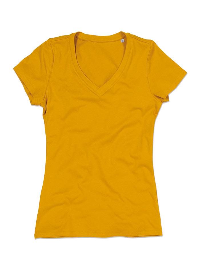 Dámské tričko Janet - Žlutá L