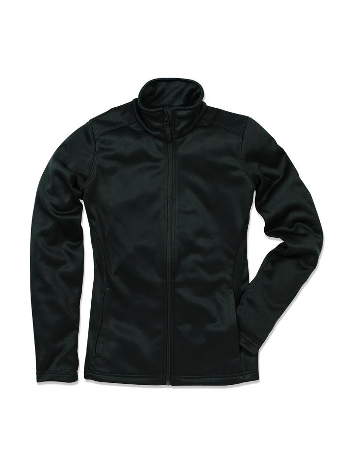Dámská mikina Active fleece - Opálově černá S
