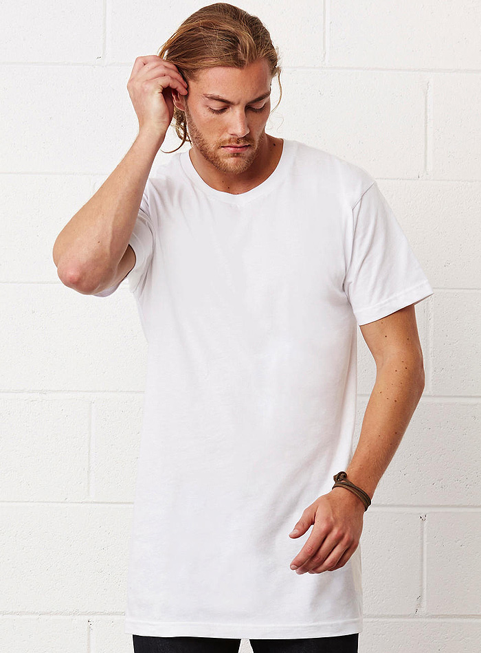 e452d6f22ad4 Pánské dlouhé tričko Urban - Neobvykle dlouhé pánské tričko ...