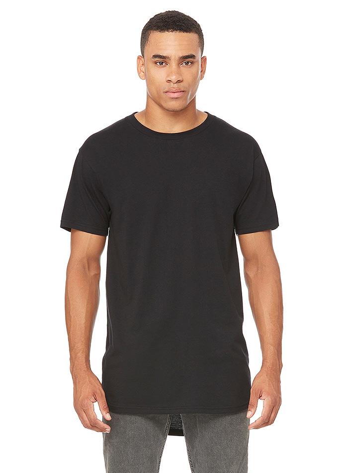 Pánské dlouhé tričko Urban - černá XXL