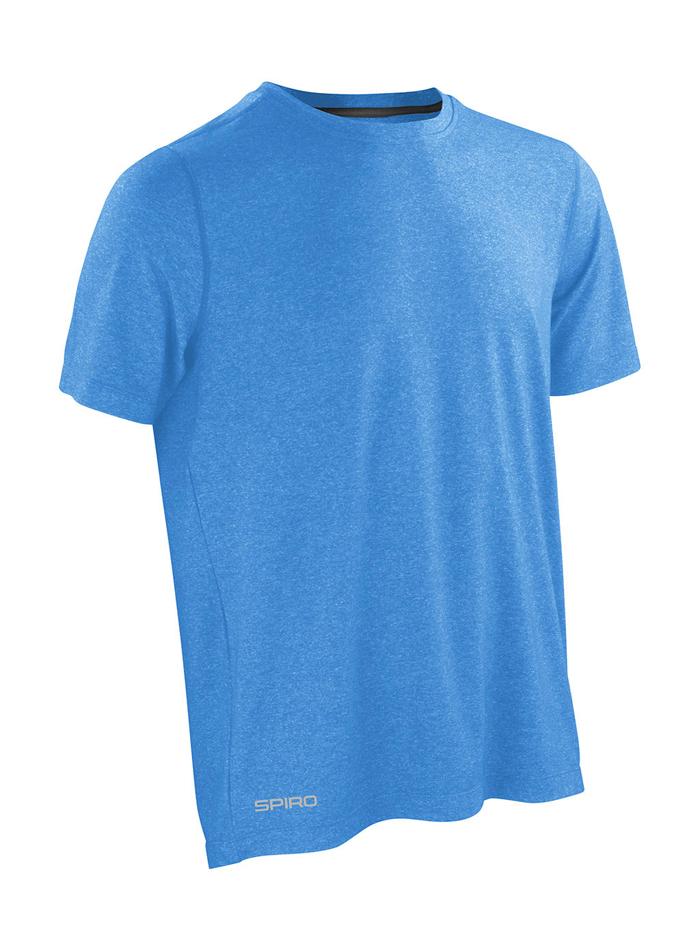Pánské Fitness tričko - Modrá L