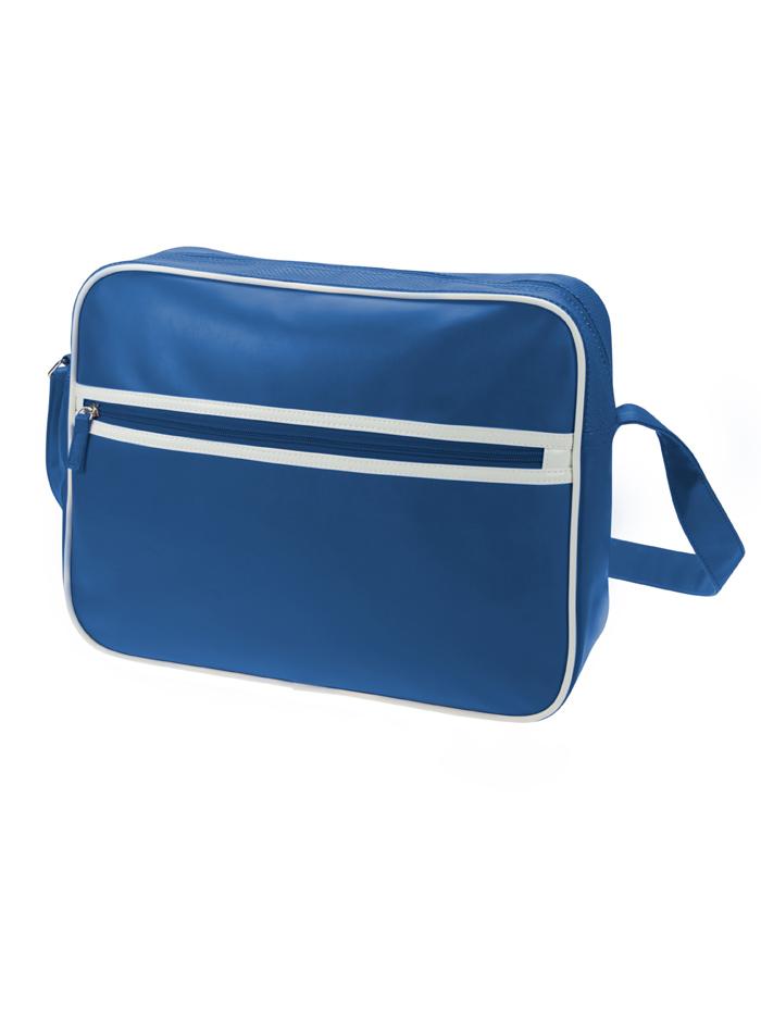 Retro taška na zip - Královská modrá univerzal