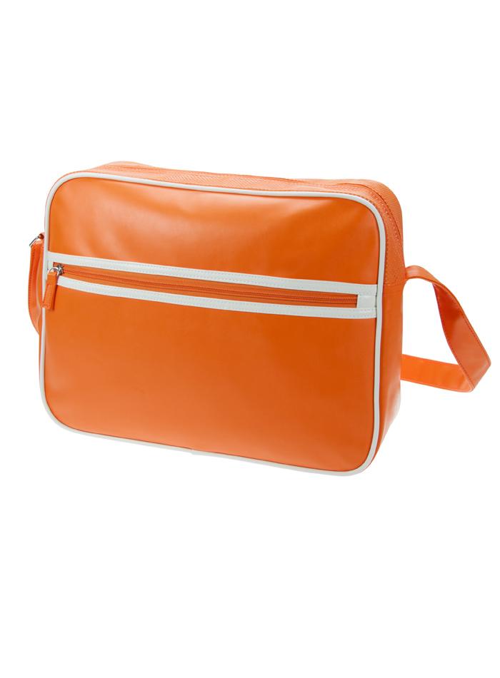 Retro taška na zip - Oranžová univerzal