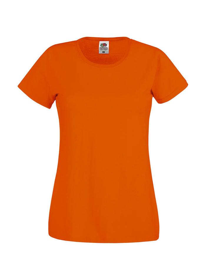 Dámské tričko Original Tee - Oranžová M