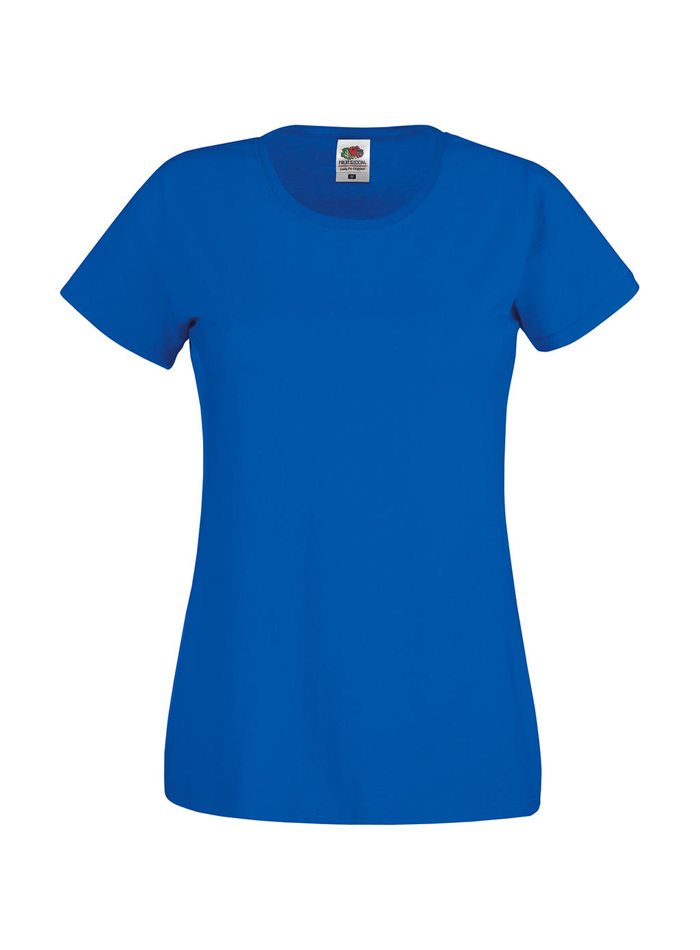 Dámské tričko Original Tee - Královská modrá XXL