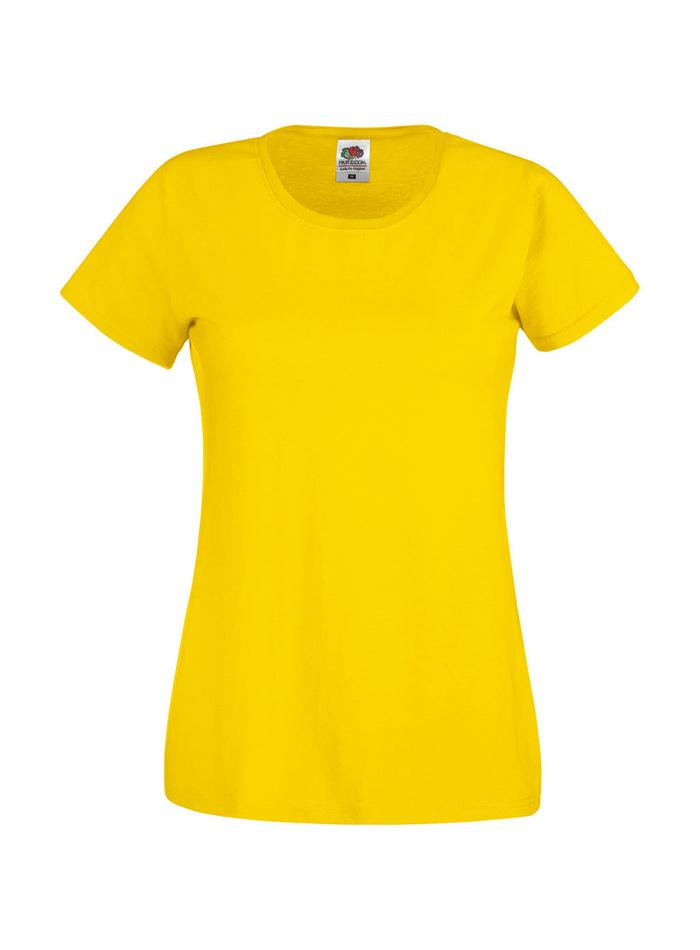 Dámské tričko Original Tee - Žlutá L