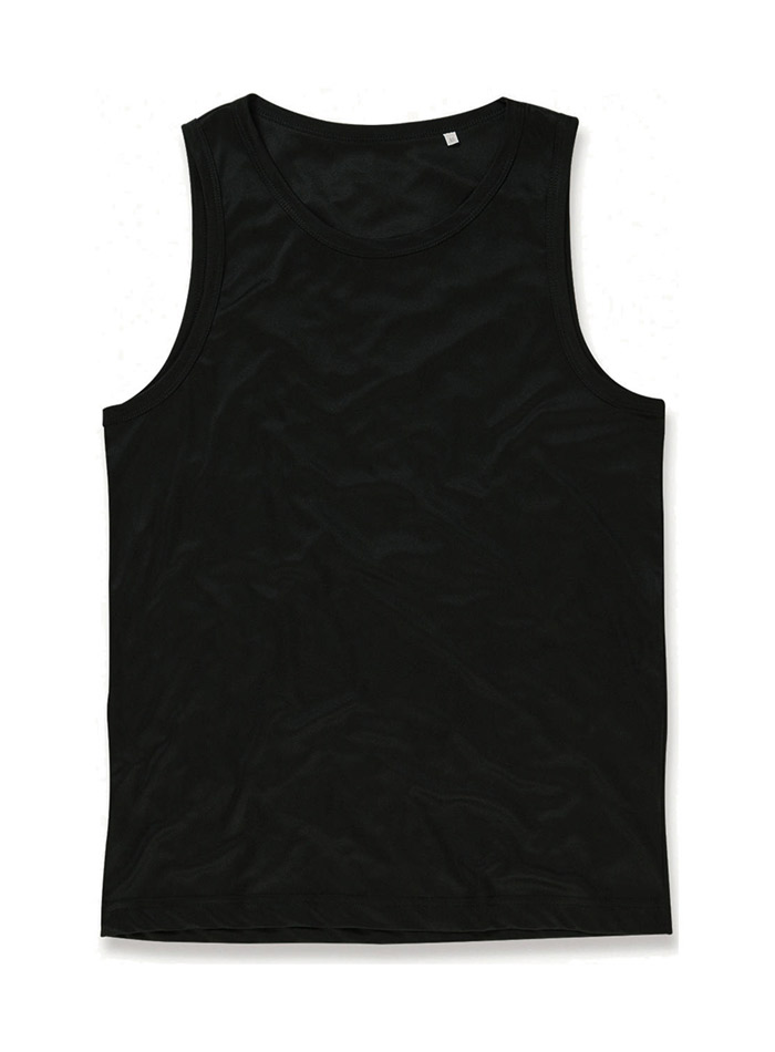 Pánský top Active Sports - Opálově černá L
