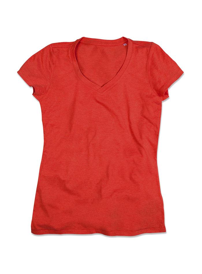 Dámské tričko Lisa - Oranžová M
