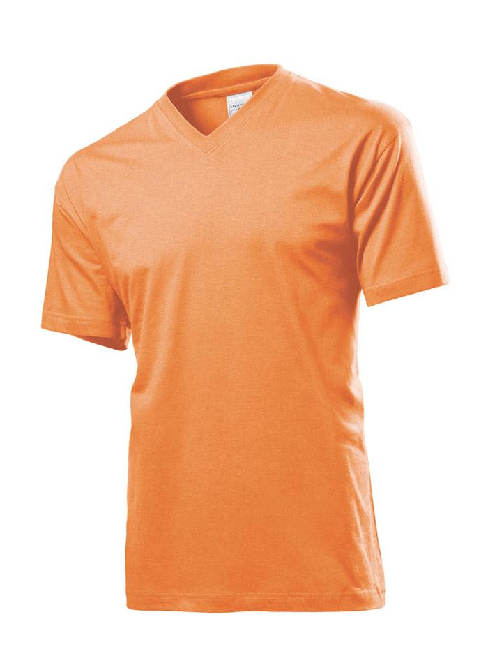 Pánské tričko Classic - Oranžová XL