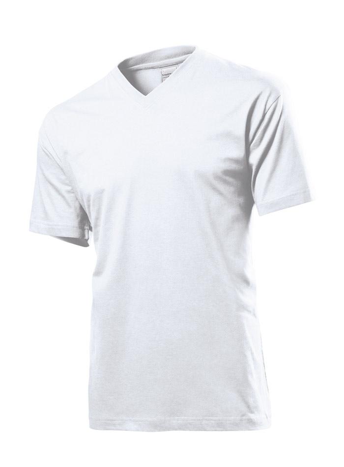 Pánské tričko Classic - Bílá S