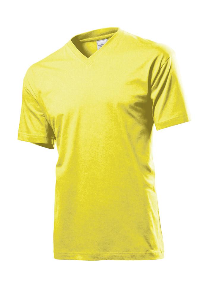 Pánské tričko Classic - Žlutá L