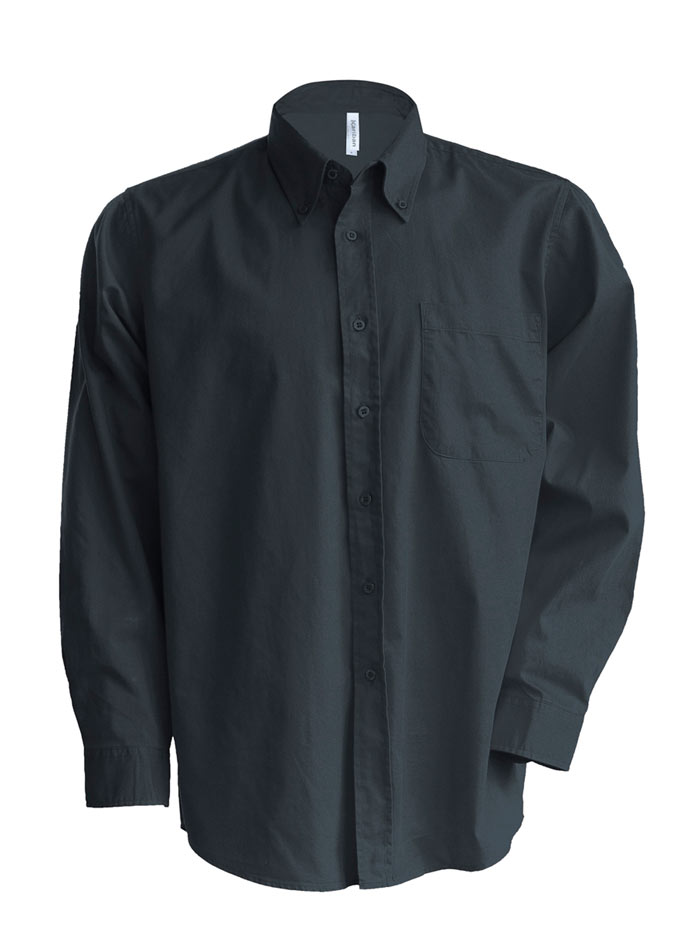 Pánská košile Nevada - Tmavě šedá XL