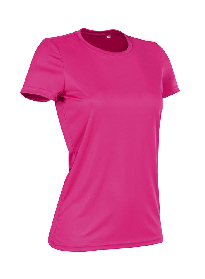 Dámské tričko Active Sports - Růžová L