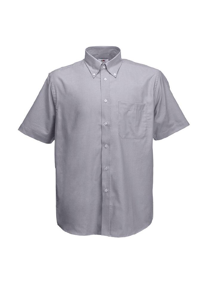 Pánská košile Oxford - Šedá XL