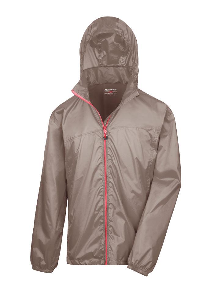 Pánská nepromokavá bunda - Béžová M