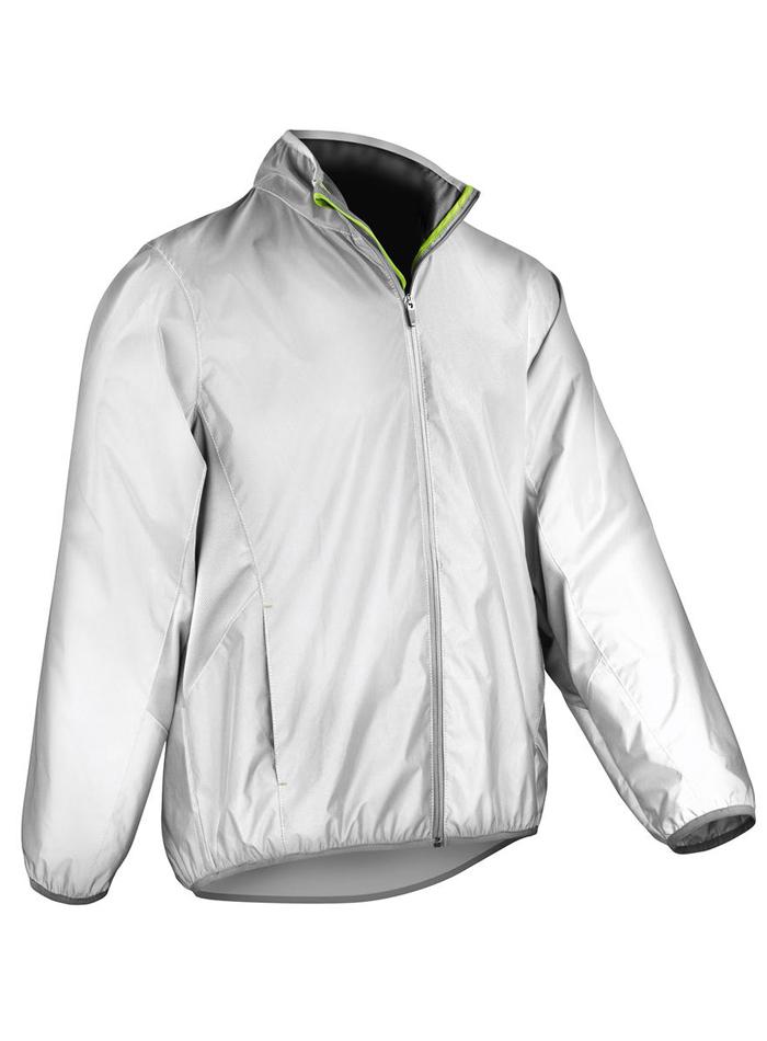 Funkční reflexní bunda - Reflexní bílá 4XL