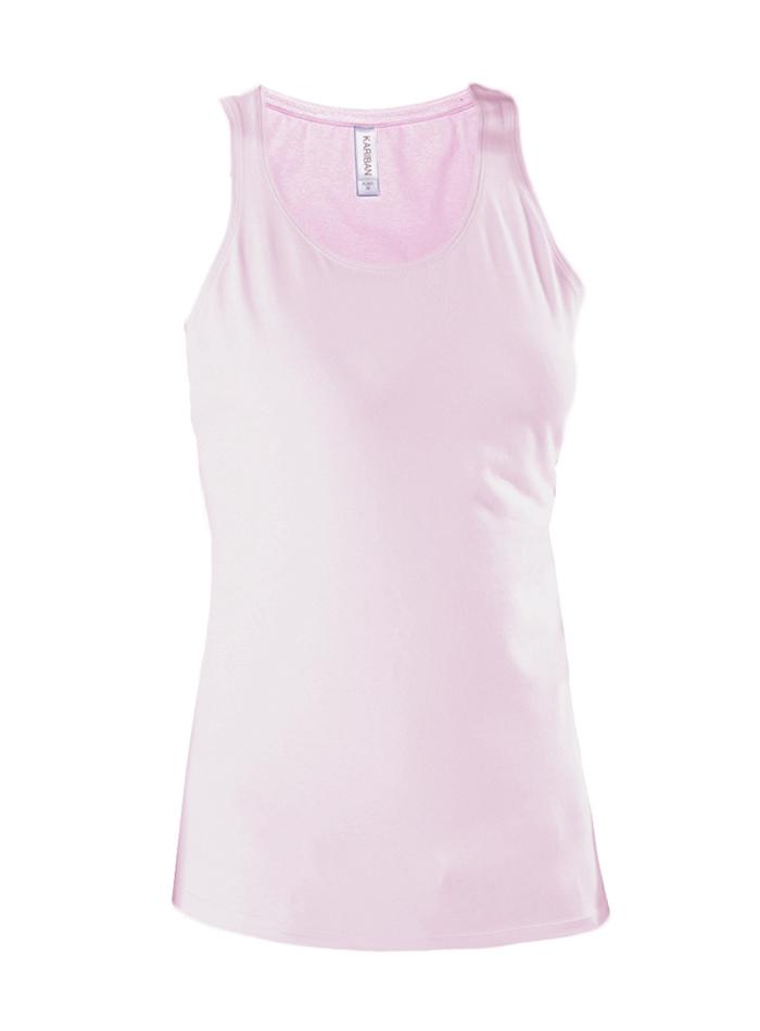 Dámské pružné tílko - Světle růžová XL