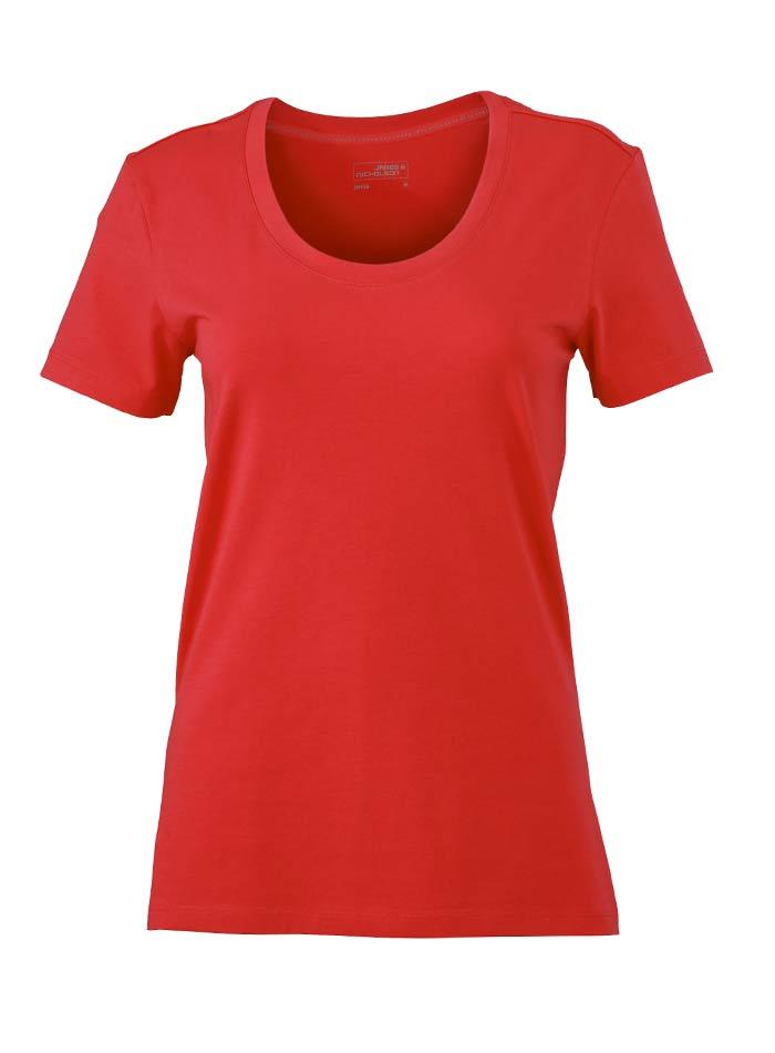Dámské Stretch tričko - Červená S