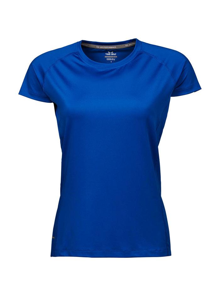 Dámské sportovní tričko cool dry Tee Jays - Královská modrá XXL