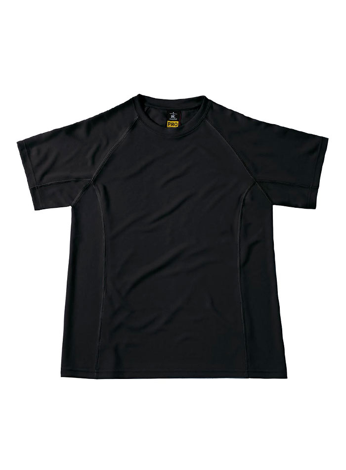 Funkční pracovní tričko - Černá S