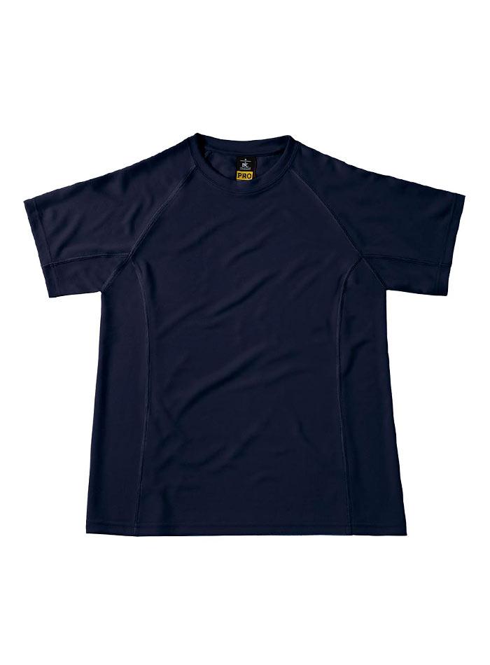Funkční pracovní tričko - Námořní modrá S