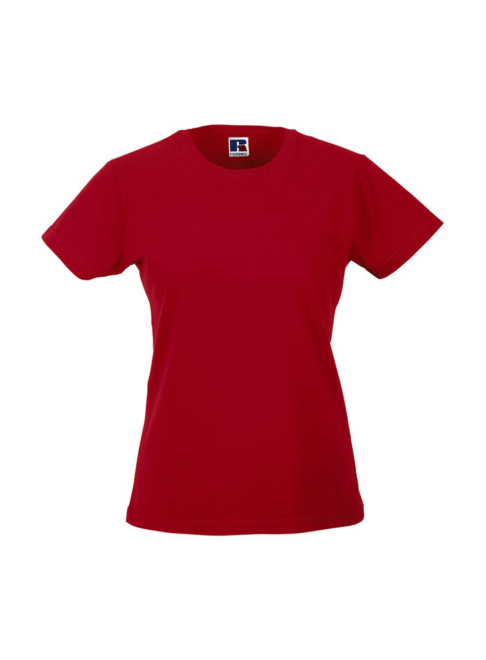 Dámské tričko Slim - Červená S