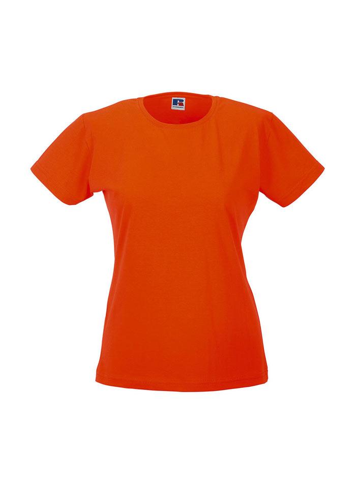 Dámské tričko Slim - Oranžová M