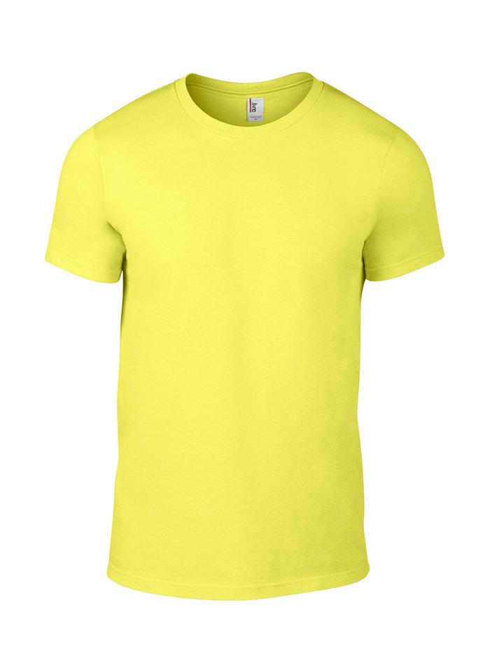 Přiléhavé tričko Fashion - Žlutá L