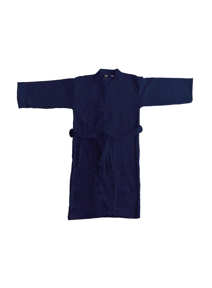 Koupací plášť Kimono - Námořní modrá 3XL/4XL