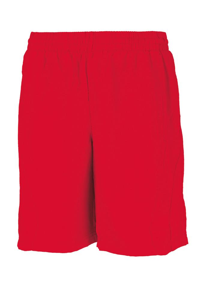 Pánské sportovní šortky - Červená XXL