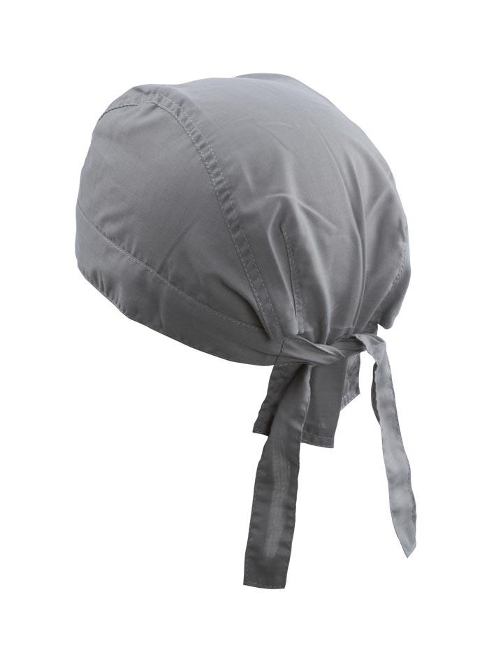 Šátek na hlavu - Tmavě šedá univerzal